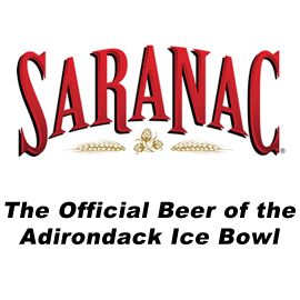 Saranac - The Official Beer of the Adirondack Ice Bowl